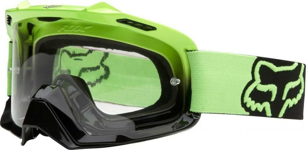 Obrázek produktu Brýle FOX Air Space Dark Green-Black Fade-Clear (AirSpc Green) (15434) FX06333-905
