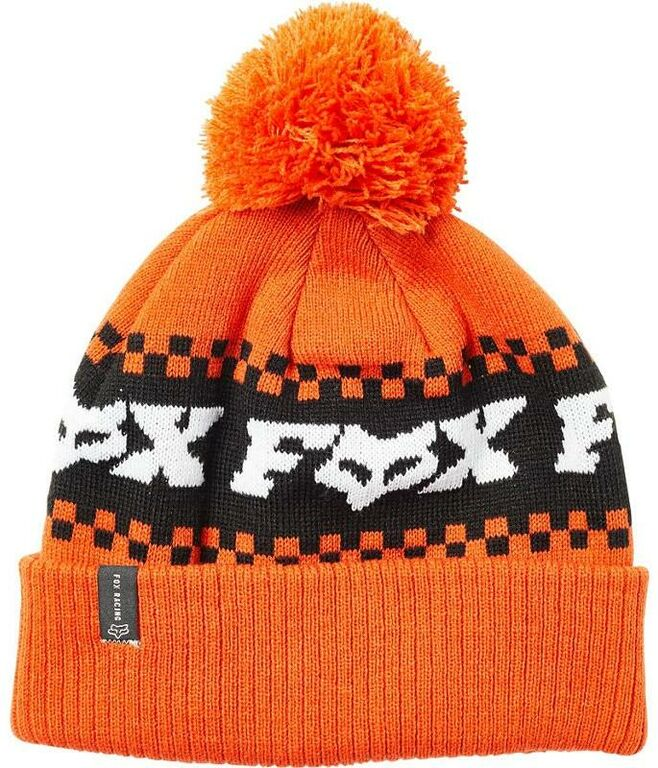 Obrázek produktu Čepice zimní FOX Overkill Beanie Atomic Orange (universální velikost) (fx23687-456) FX23687-456