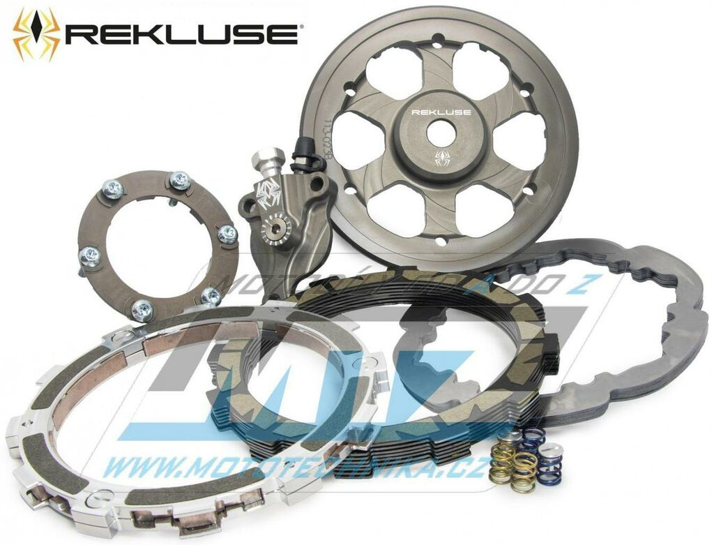 Obrázek produktu Spojka Rekluse RadiusX - KTM 450EXC+500EXC / 16 + KTM 450 Rally Factory + Husqvarna FE450+FE501 / 16 (radiusx-clutch-dds)