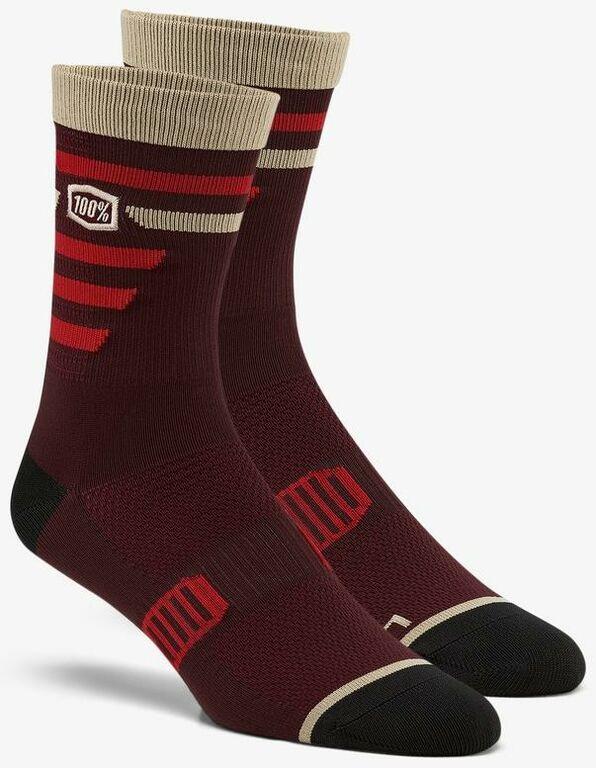 Obrázek produktu ponožky ADVOCATE, 100% - USA (vínové/červené) 24017-068