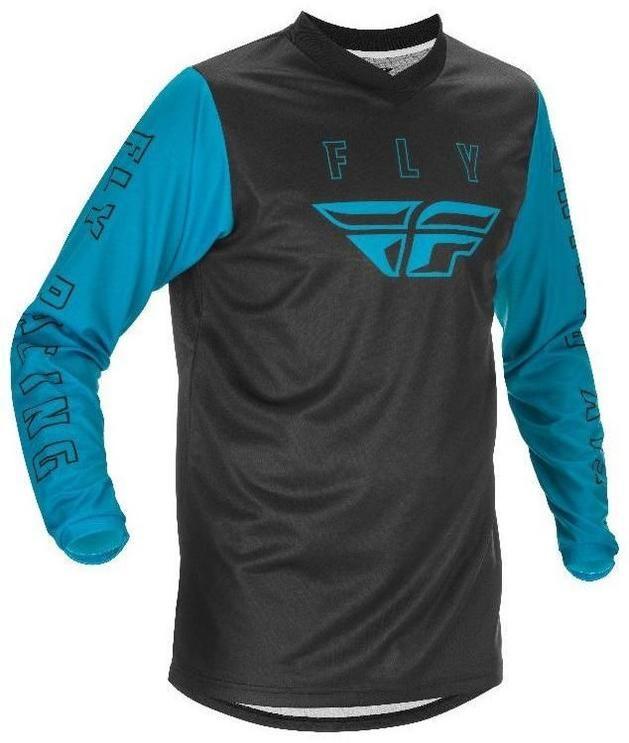 Obrázek produktu dres F-16 2021, FLY RACING dětské (modrá/černá) 374-921