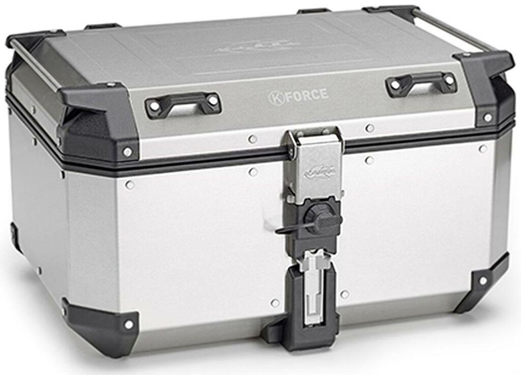 Obrázek produktu MONOKEY TopCase K-FORCE - 58L, KAPPA (stříbrný, hliník, 55,5x32,3x45,4) KFR580A