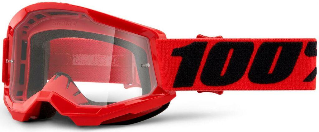 Obrázek produktu STRATA 2 100% - USA , dětské brýle červené - čiré plexi 50521-101-03