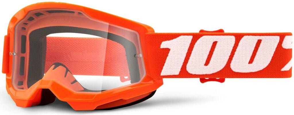 Obrázek produktu STRATA 2 100% - USA , dětské brýle Orange - čiré plexi 50521-101-05