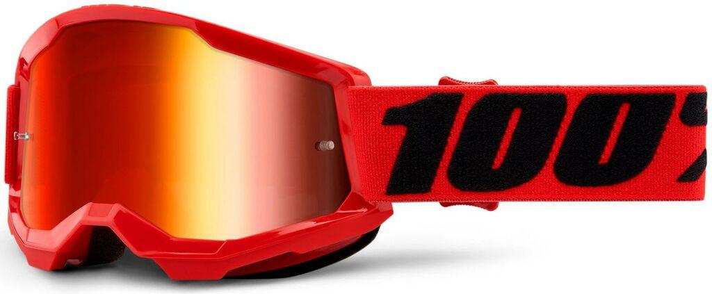 Obrázek produktu STRATA 2 100% - USA , dětské brýle červené - zrcadlové červené plexi 50521-251-03