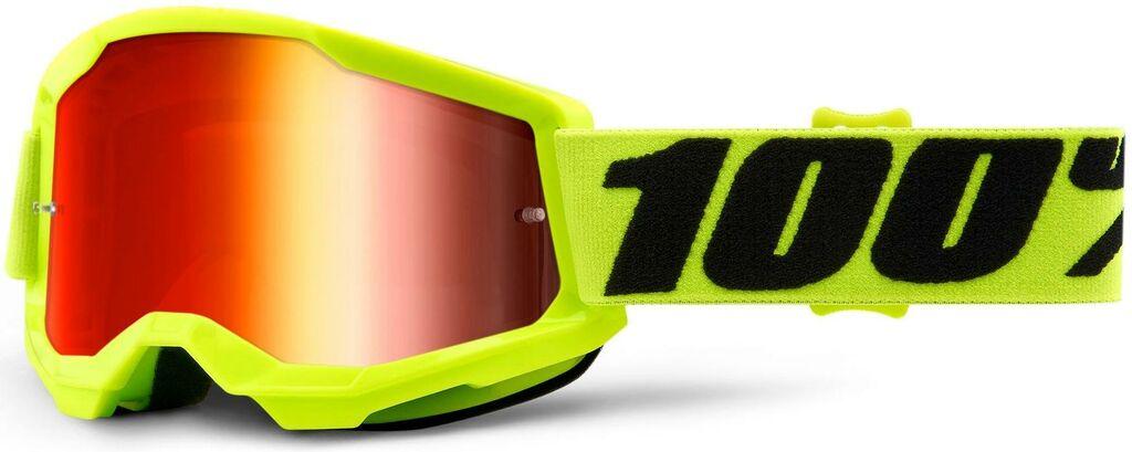 Obrázek produktu STRATA 2 100% - USA , dětské brýle žluté - zrcadlové červené plexi 50521-251-04