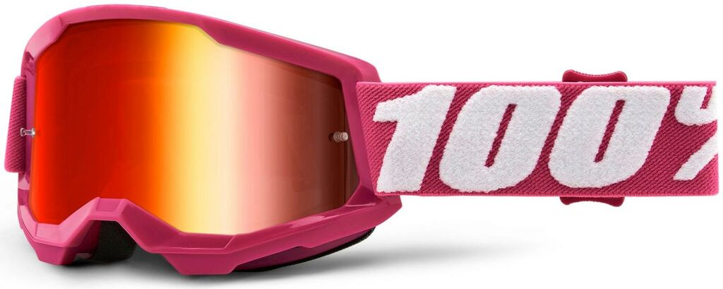 Obrázek produktu STRATA 2 100% - USA , dětské brýle Fletcher - zrcadlové červené plexi 50521-251-06