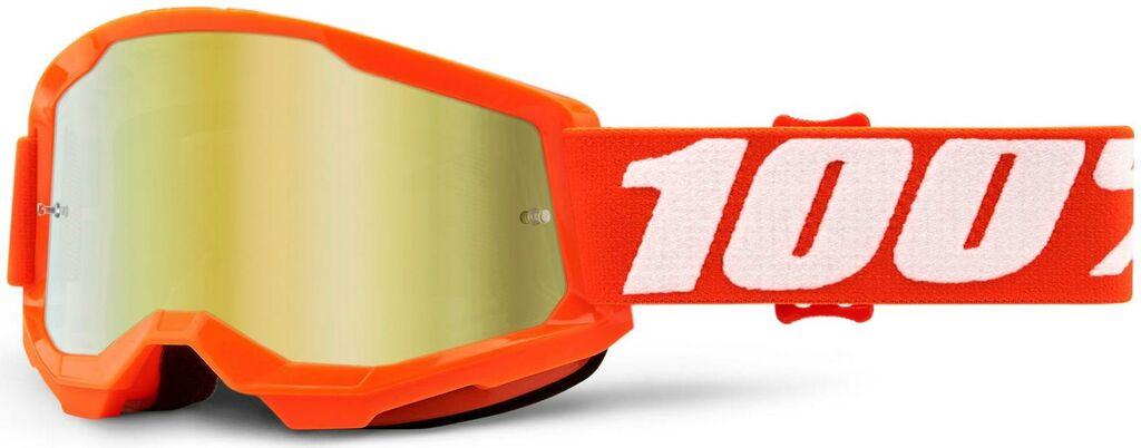 Obrázek produktu STRATA 2 100% - USA , dětské brýle Orange - zrcadlové zlaté plexi 50521-259-05