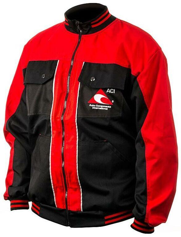 Obrázek produktu Pracovní bunda ACI montérková černočervená PREMIUM  BUNDA MONTERKOVÁ ACI