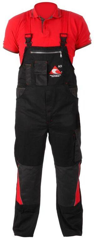 Obrázek produktu Pracovní kalhoty ACI montérky s laclem černé PREMIUM  LACL KALHOTY ACI
