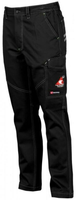 Obrázek produktu Pracovní kalhoty ACI montérky černé STRETCH 1150000091633