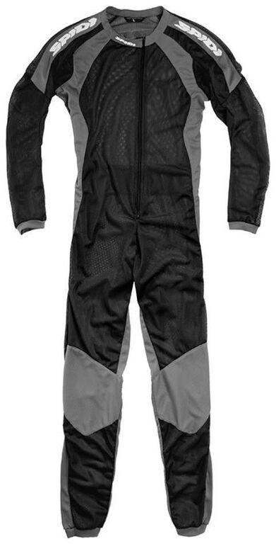 Obrázek produktu jednodílné spodní prádlo pod kombinézu RIDER UNDERSUIT, SPIDI (černá/šedá) L82-010