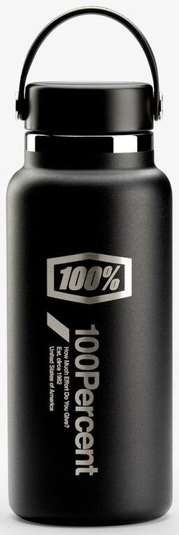 Obrázek produktu hydro láhev - Wide Mouth, 100% - USA (černá) 01002-001-95