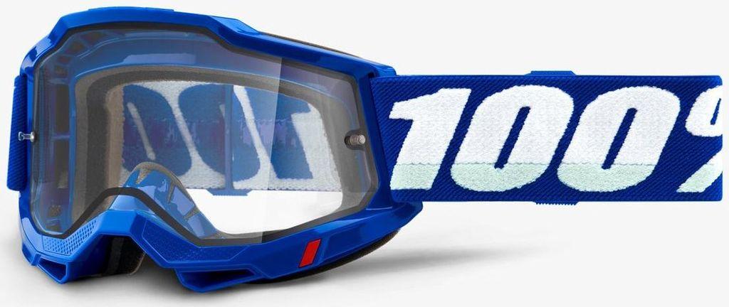 Obrázek produktu ACCURI 2 100% - USA , ENDURO brýle modré - čiré plexi 50221-501-02