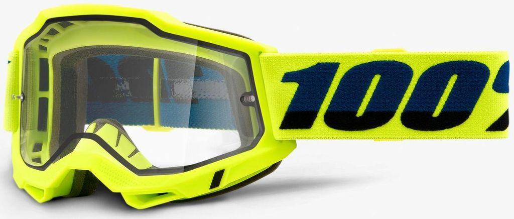 Obrázek produktu ACCURI 2 100% - USA , ENDURO brýle žluté - čiré plexi 50221-501-04