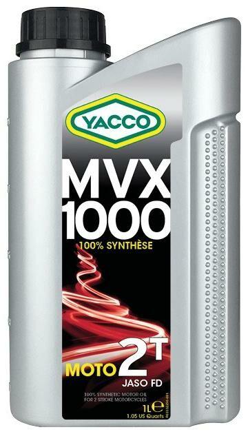 Obrázek produktu Motorový olej YACCO MVX 1000 2T, YACCO (1 l) 33321