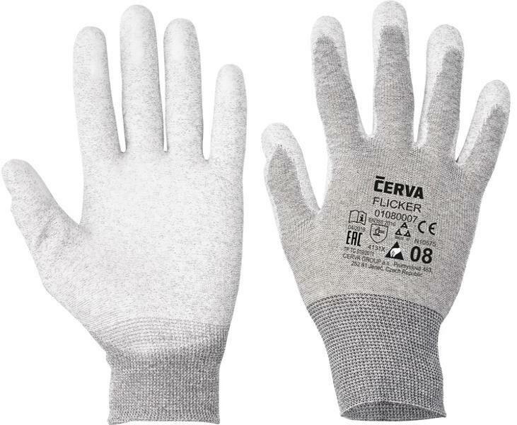 Obrázek produktu Flicker rukavice antistatické (jeden pár) 1050000004134
