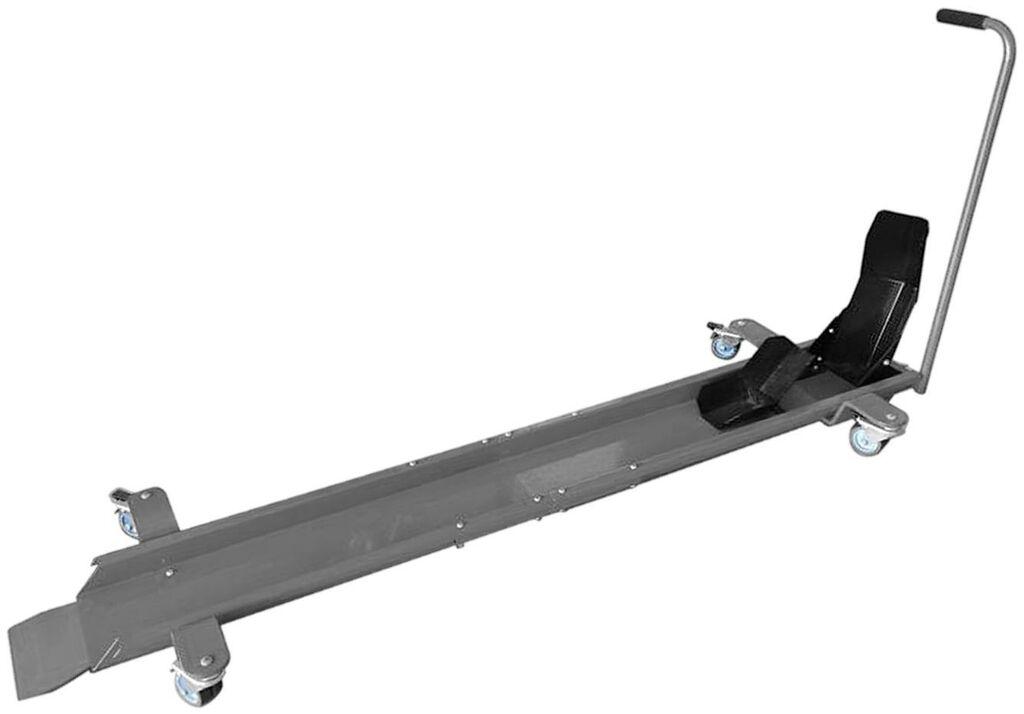 Obrázek produktu pojízdný stojan pod motocykl (s fixací na přední kolo), Q-TECH (černá) JL-M03018