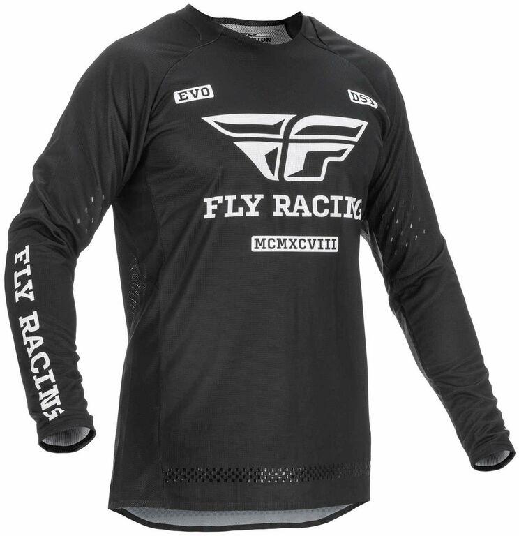 Obrázek produktu dres EVOLUTION DST. FLY RACING - USA 2022 (černá/bílá) 375-121