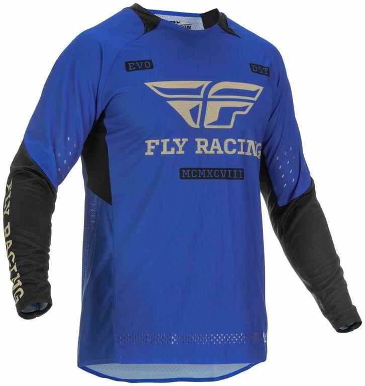 Obrázek produktu dres EVOLUTION DST. FLY RACING - USA 2022 (modrá/černá) 375-122