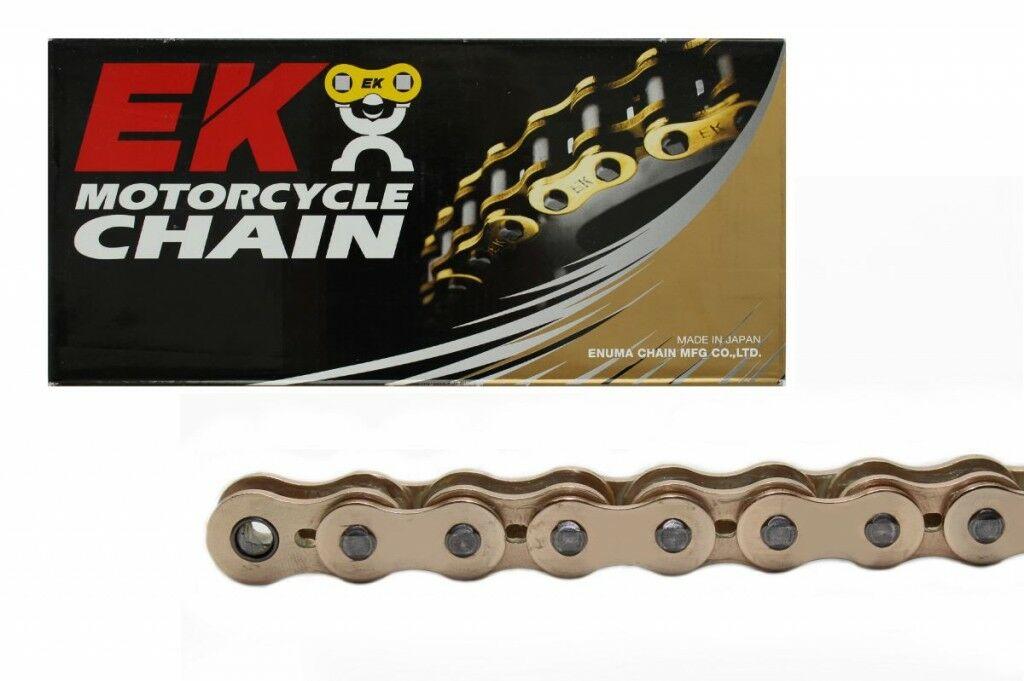 Obrázek produktu QX-kroužkový řetěz OEM kvality EK 530 MVXZ-ZST 112 L zlatá, ZST technologie