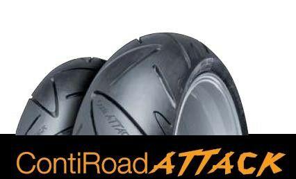 Obrázek produktu Pneumatika CONTINENTAL 160/60 ZR18 M/C (70W) TL /Conti Road Attack/ Zadní