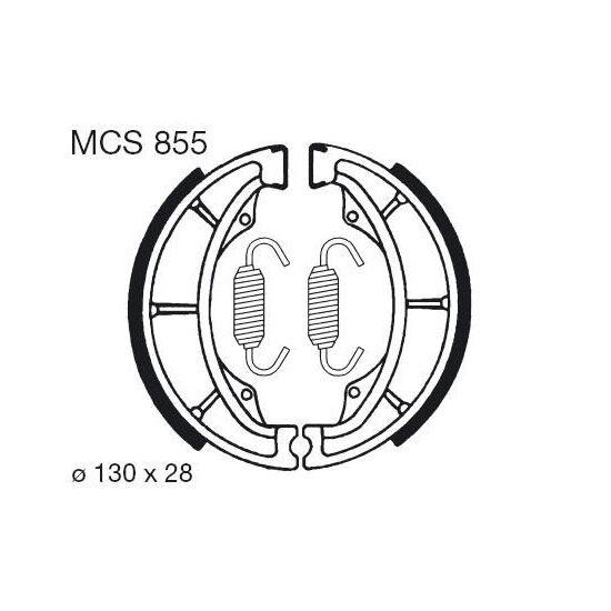 Obrázek produktu Brzdové čelisti LUCAS MCS 855