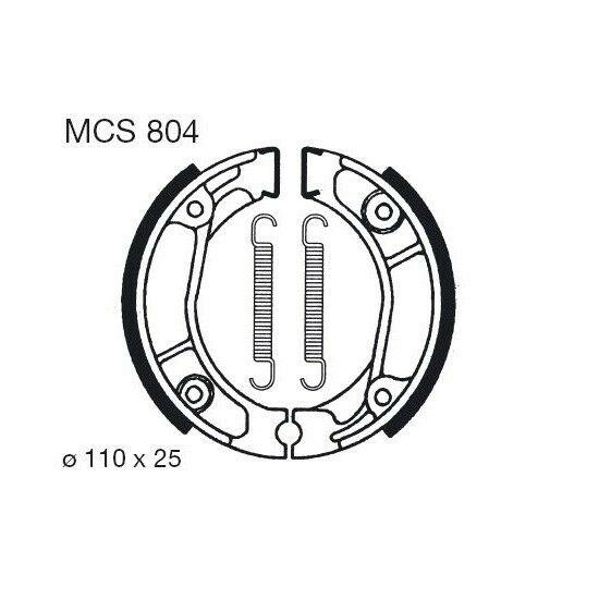 Obrázek produktu Brzdové čelisti LUCAS MCS 804