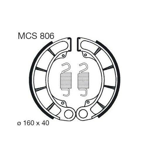 Obrázek produktu Brzdové čelisti LUCAS Zadní