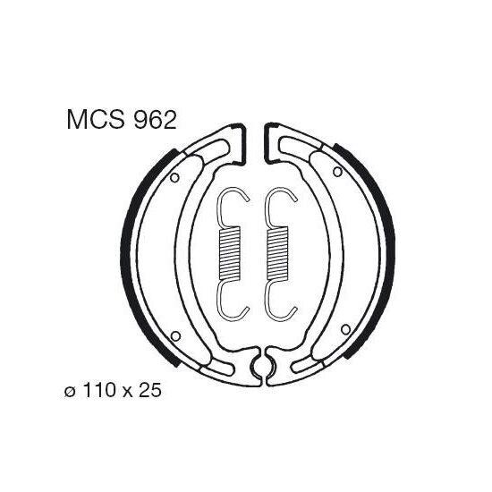 Obrázek produktu Brzdové čelisti LUCAS