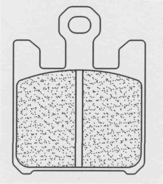 Obrázek produktu Brzdové destičky CL BRAKES C59 (C55) (2ks v sadě)