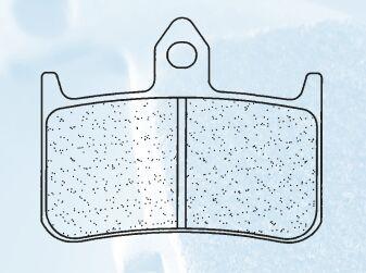 Obrázek produktu Brzdové destičky CL BRAKES S4