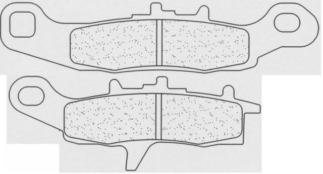 Obrázek produktu Brzdové destičky CL BRAKES X1