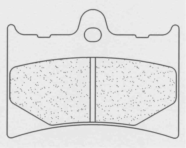 Obrázek produktu Brzdové destičky CL BRAKES EN10 (XE7)