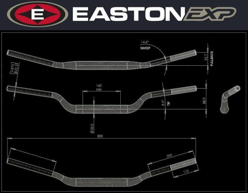 Obrázek produktu Řidítka EASTON EXP EXP