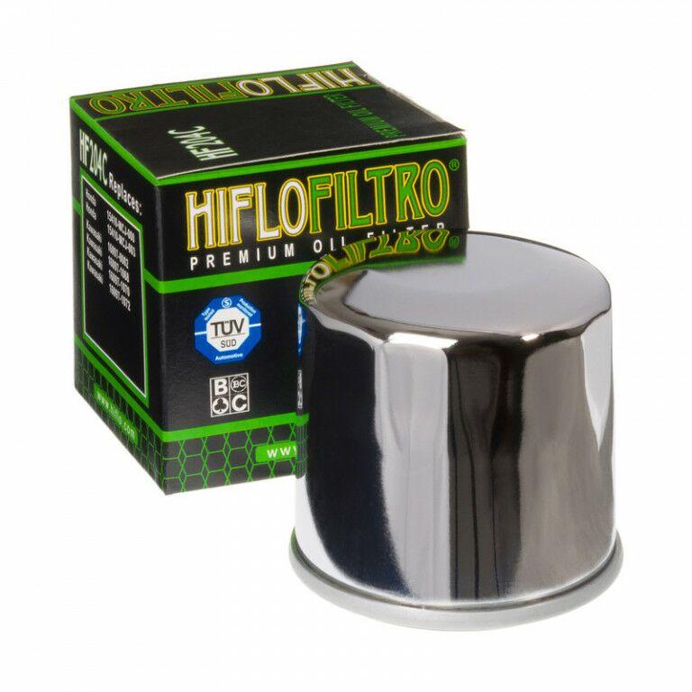 Obrázek produktu Olejový filtr HIFLOFILTRO chrom