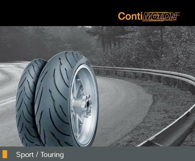 Obrázek produktu Pneumatika CONTINENTAL 120/70 ZR17 M/C (58W) TL /Conti Motion/ Přední