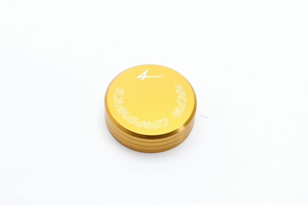 Obrázek produktu Víčko zad.brzdové/spojkové nádobky 4RACING zlatá