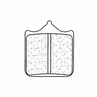Obrázek produktu Brzdové destičky CL BRAKES A3+ (4ks v sadě)