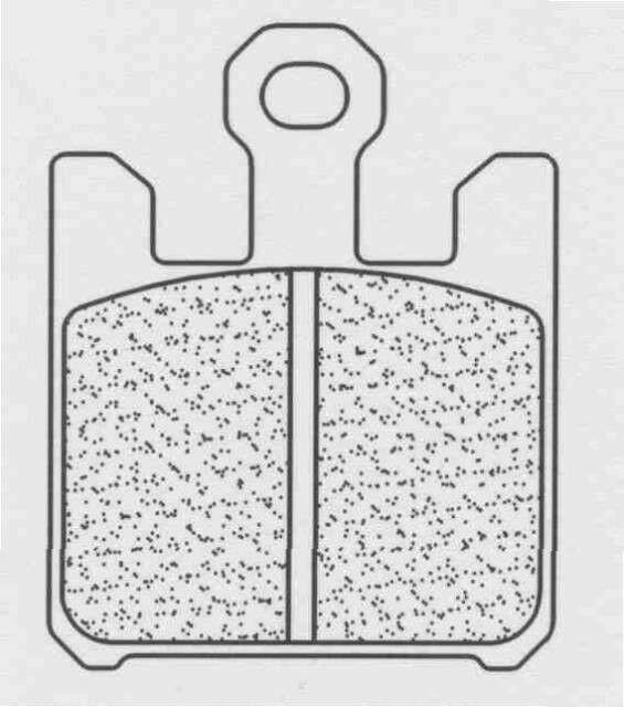 Obrázek produktu Brzdové destičky CL BRAKES XBK5 (4ks v sadě)