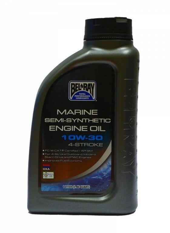 Obrázek produktu Motorový olej Bel-Ray MARINE SEMI-SYNTHETIC 4T 10W-30 1 l 99750-BT1
