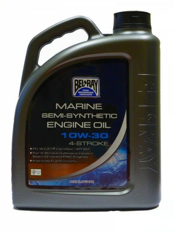 Obrázek produktu Motorový olej Bel-Ray MARINE SEMI-SYNTHETIC 4T 10W-30 4 l 99750-BT4
