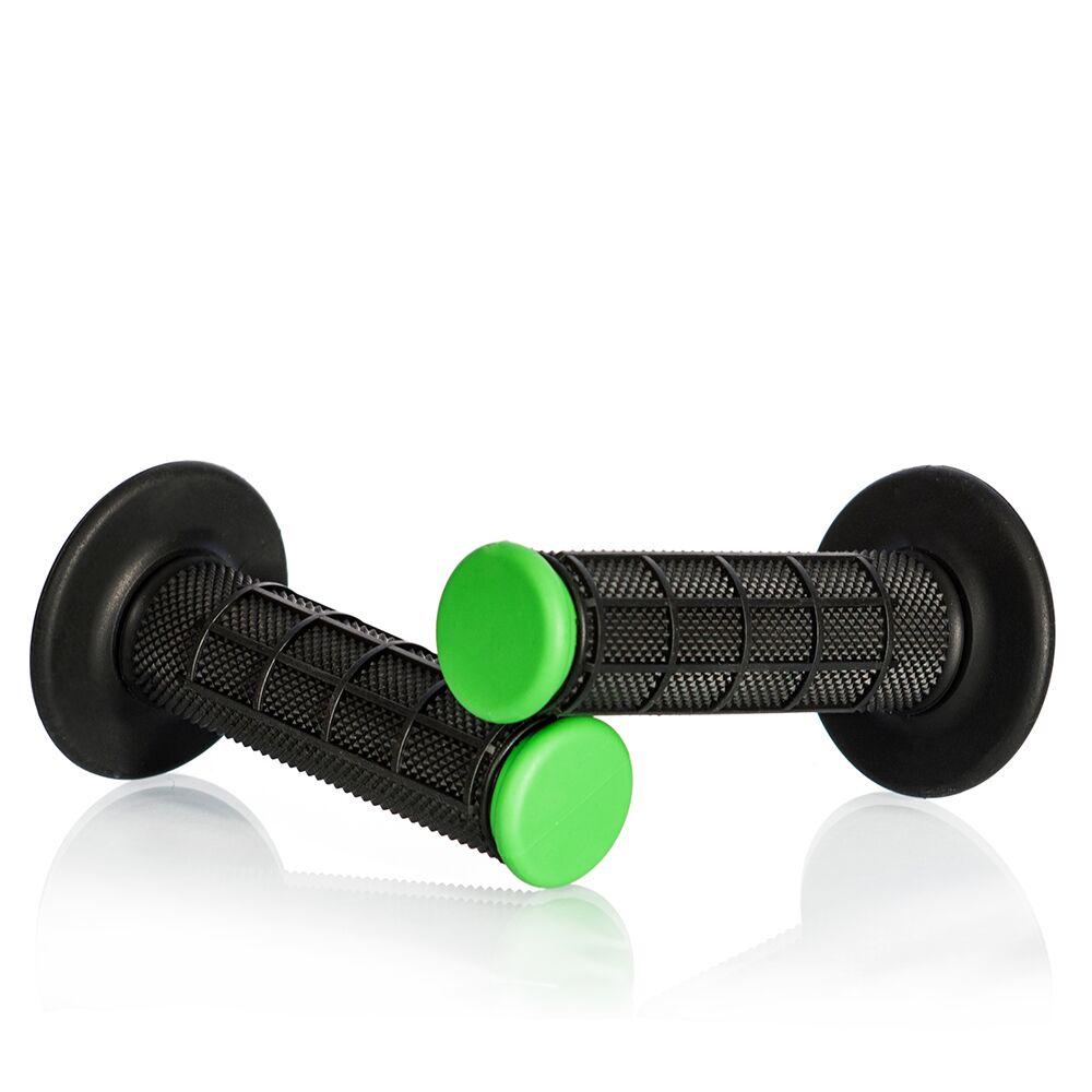 Obrázek produktu Motokrosové rukojeti MOTION STUFF černá/zelená