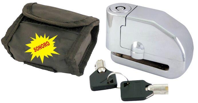 Obrázek produktu Zámek na kotouč RMS d6mm s alarmem a taškou 288000650