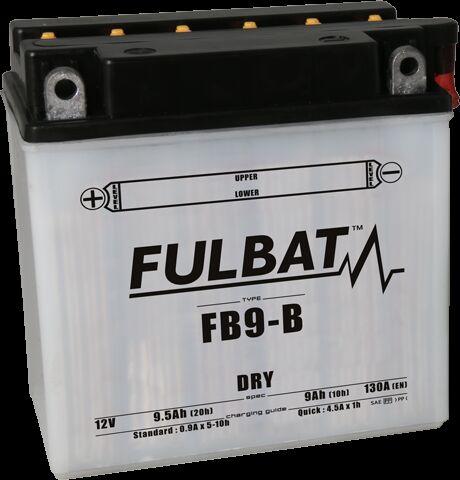 Obrázek produktu Konvenční motocyklová baterie FULBAT Včetně balení kyseliny