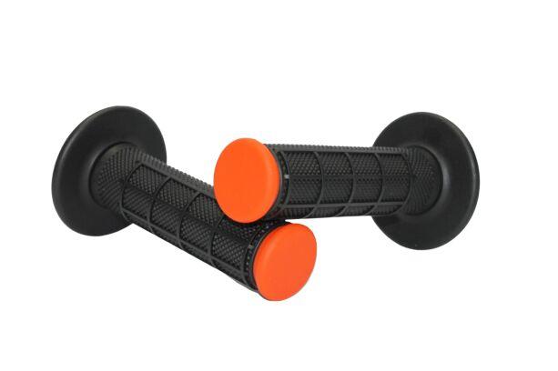 Obrázek produktu Motokrosové rukojeti MOTION STUFF černá/oranžová