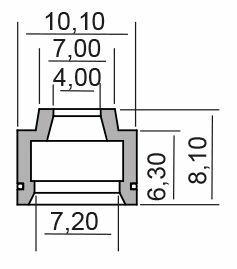 Obrázek produktu Gufero RMS valve stem