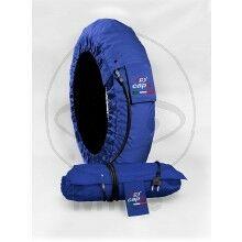 Obrázek produktu Zahřívač pneumatik JMT CAPIT suprema modrý Front 120/17 Rear 200/16-17´´
