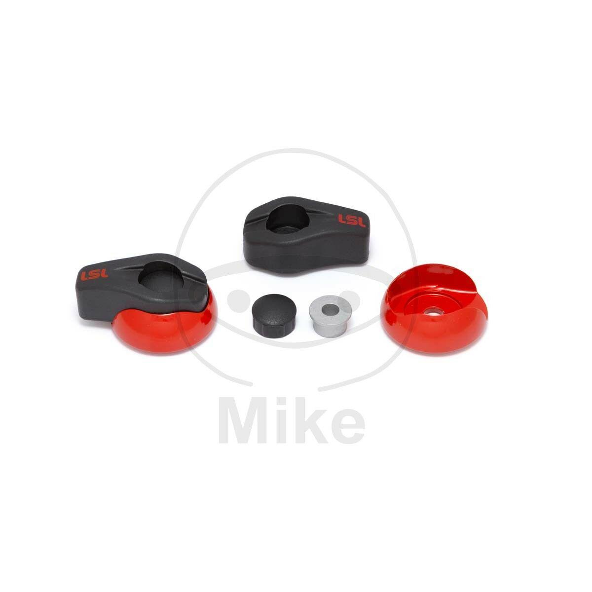 Obrázek produktu Pádové protektory LSL ALU červená