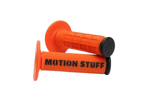 Obrázek produktu Motokrosové rukojeti MOTION STUFF Oranžovo/černé